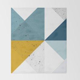Modern Geometric 17 Throw Blanket