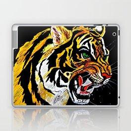 Tiger Stalking Prey Oil Painting Laptop & iPad Skin