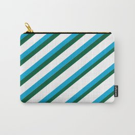 TEAM COLORS 1...LIGHT BLUE,GREEN Carry-All Pouch