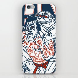 Dank Jiu-Jitsu x Half Sumo Collective Crossover T-shirt iPhone Skin