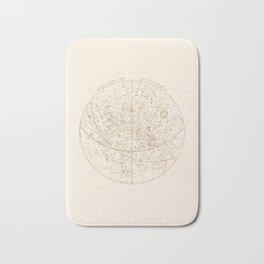 Visible Heavens - Gold Bath Mat
