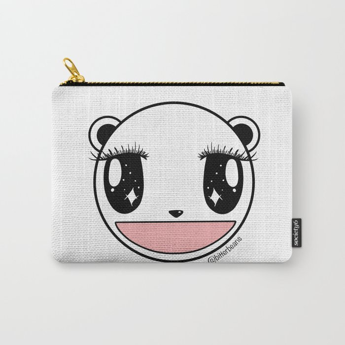 Ecstatic Happy Face Carry-All Pouch