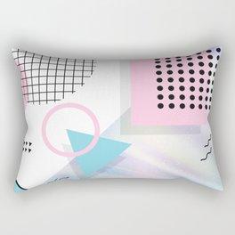 Memphis Pastels Rectangular Pillow