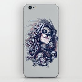 Coyolxauhqui iPhone Skin