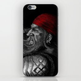 Dwarf vs. Hook Horror  iPhone Skin