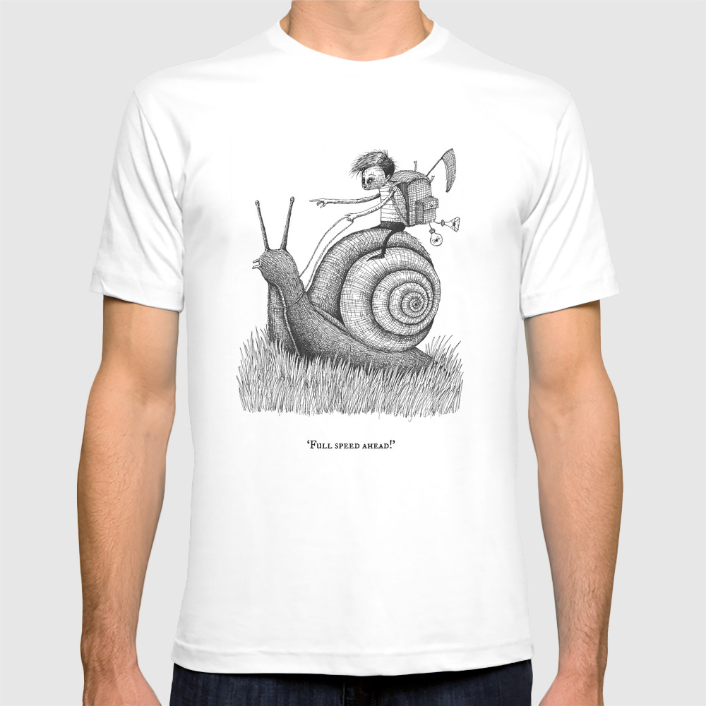 'full Speed Ahead!' T-shirt by Stareatthesky TSR2374729