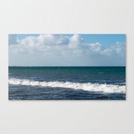 Pelican at Sea Canvas Print
