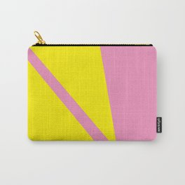 Pink Angles Carry-All Pouch