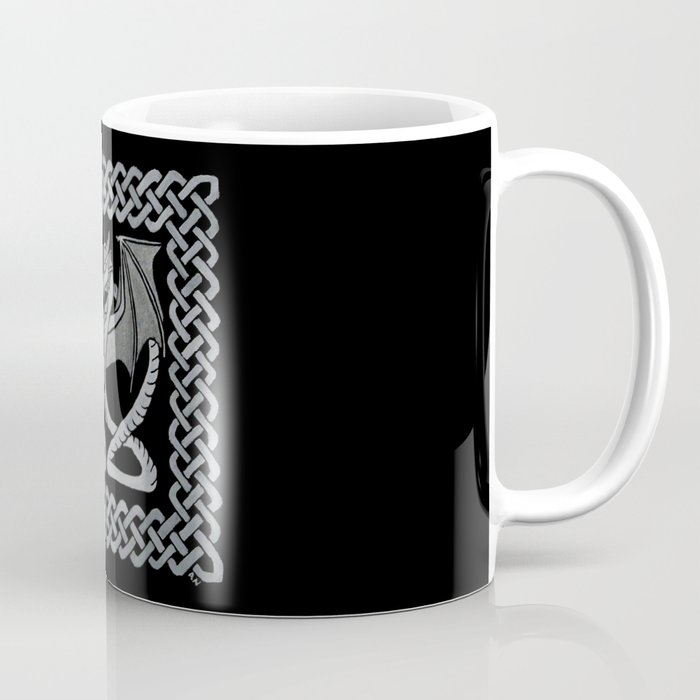 White Dragon Coffee Mug