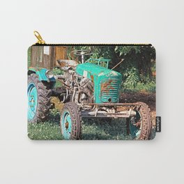 Old traditional Lindner tractor | conceptual photography Carry-All Pouch