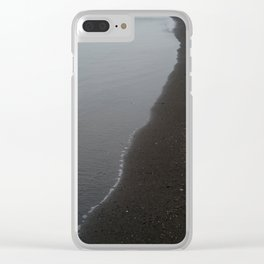 The Great Divide Clear iPhone Case
