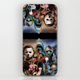 Horror Icons. iPhone Skin