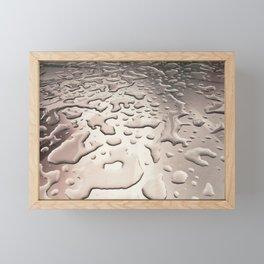 Water Drops Framed Mini Art Print
