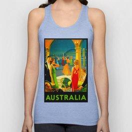 Vintage Sydney Australia Travel Unisex Tank Top