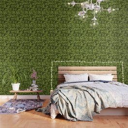 Mermaid Scales | Green with Envy Wallpaper