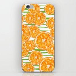 O R A N G E S iPhone Skin