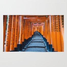 Fushimi Inari-taisha in Kyoto, Japan Rug