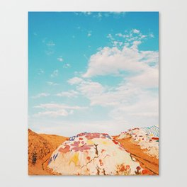 Salvation Mountain, California Canvas Print