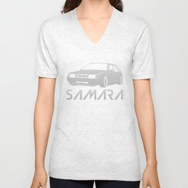 Lada Samara - silver - Unisex V-Neck