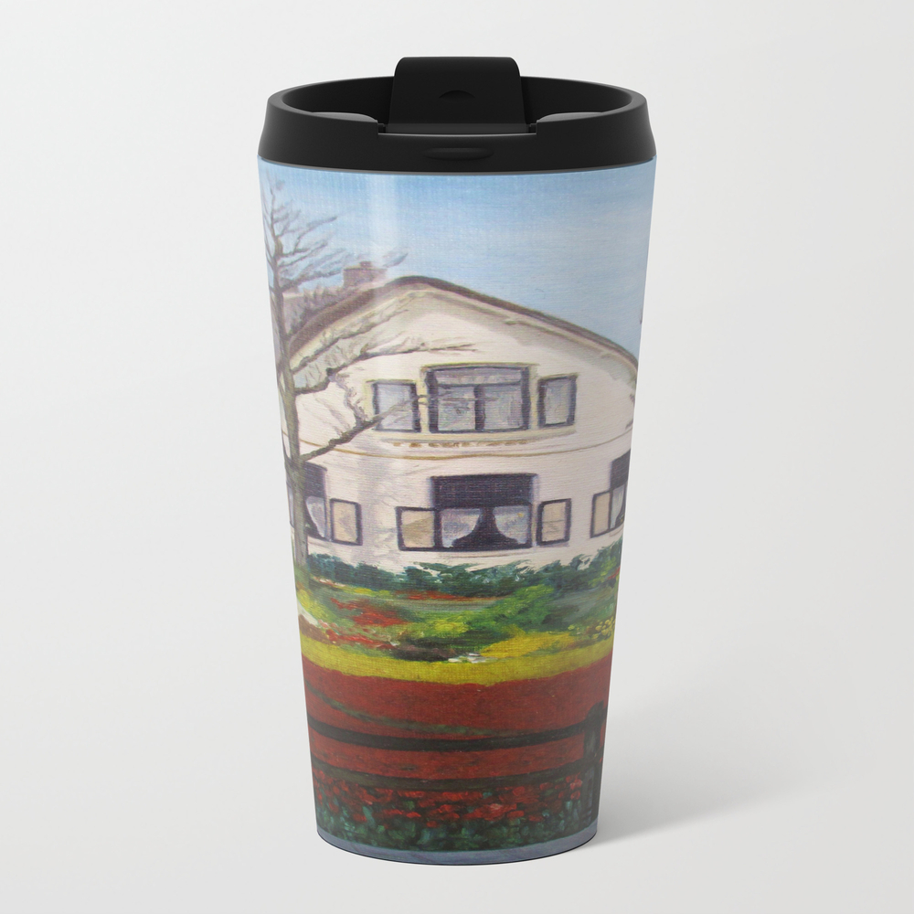 Tulip Cottage Travel Mug TRM8800420