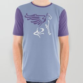 Myths & Monsters: Winged dog All Over Graphic Tee