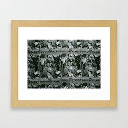 Documentarist Framed Art Print