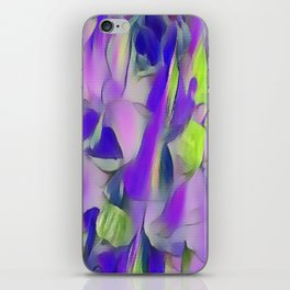 Heavenly Rose Petals Abstract - Purple iPhone Skin