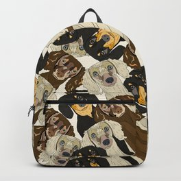 Triple Doxies Backpack