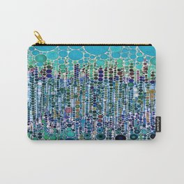:: Blue Raspberry Martini :: Carry-All Pouch