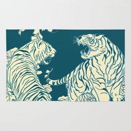 floral tigers Rug