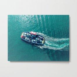 North Sea Ferry Metal Print