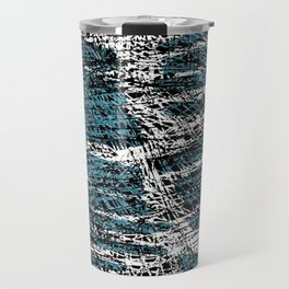 Textured brushstrokes - Sarah Bagshaw Travel Mug