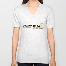 TEAM W3AK Unisex V-Neck