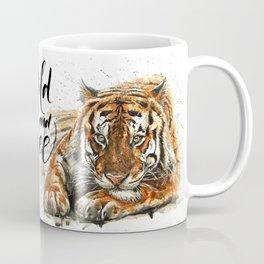 Tiger Wild and Free Coffee Mug
