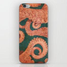 Octopus 1 iPhone Skin