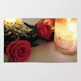 Candles & Roses Rug