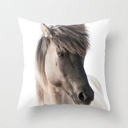 Horse Look Throw Pillow