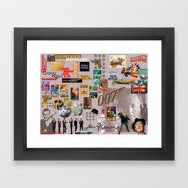 Ian Fleming Framed Art Print