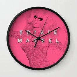 (Pink) Trixie Mattel - AS3 Wall Clock
