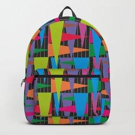 Abstract traingle Backpack