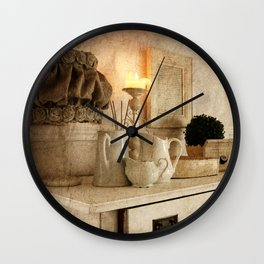 Shabby Charme Grandma's Home Wall Clock