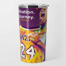 KO8E23 Bryant WPAP Pop Art Travel Mug