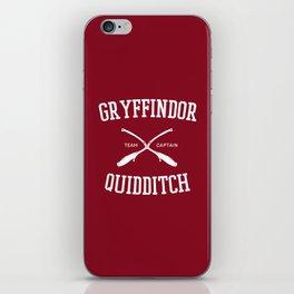 Hogwarts Quidditch Team: Gryffindor iPhone Skin