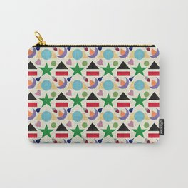 Moon & Stars Geo Mini Carry-All Pouch