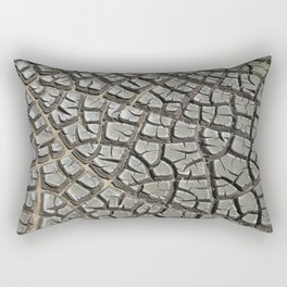 Texture #14 Drought Rectangular Pillow