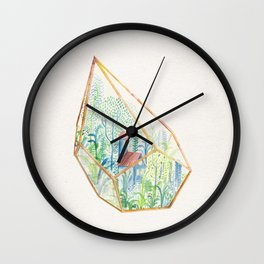 Terrarium Garden I Wall Clock