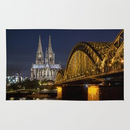 Cologne by night Rug