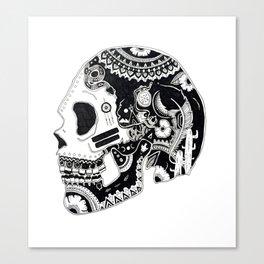 Native Skull Canvas Print