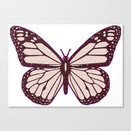 Butterfly Cutie Canvas Print
