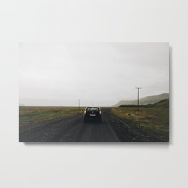 Dark Roads Metal Print